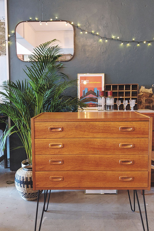 Small Mid-Century Chest of Drawers