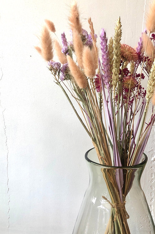Dried Flower Bouquet in Blush