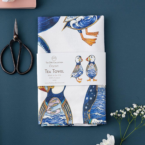 Ocean Tea Towel