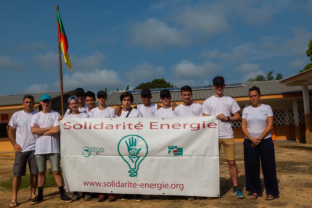 l'équipe de solidarité énergie Cameroun 2017