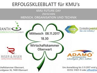Veranstaltung Erfolgskleeblatt für KMUs