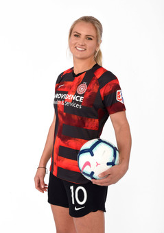US Soccer Player Lindsey Horan