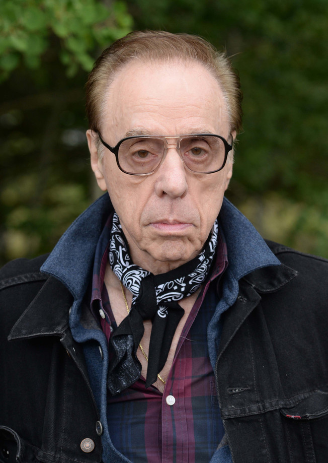 Film director Peter Bogdanovich