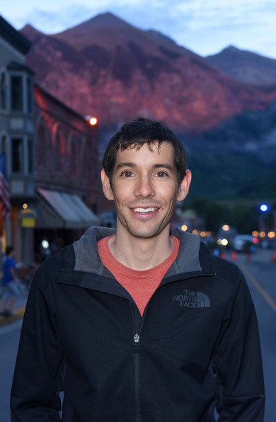 Alex Honnold for the film Free Solo