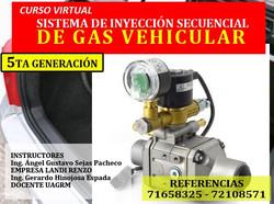sistema de inyeccion de gas vehicular