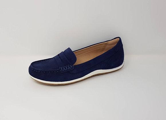 GEOX MOCASSIN BLUE