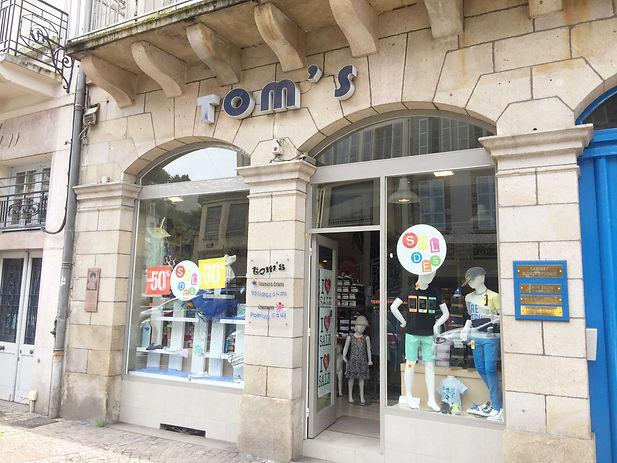 TOM'S ET JOLIPAS MAGASIN DE CHAUSSURES A