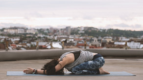 Restore + Rise: Five restorative poses for the Pelvic Floor