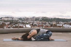 Restorative yoga Chesapeake Hot Yoga