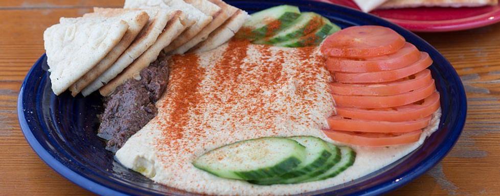 Hummus  at Fly Bar