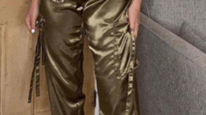 Satin Utility Trouser