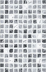 Termas Negro 20x30. azulejo imitacion gresite. ceramhome azulejos roman