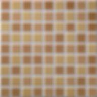 Kubic cuero mate 30x30. azulejo kubic 30x30. Serie kubic imtacion gresite. Ceramhome azulejos roman