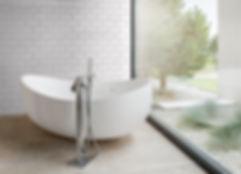 azulejo blanco biselado 10x20. azulejo tipo metro. azulejos biselados madrid. Ceramhome azulejos roman