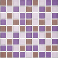 Kubic Violeta 30x30. Ceramhome azulejos Roman