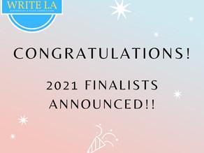 The 2021 Write LA Finalists
