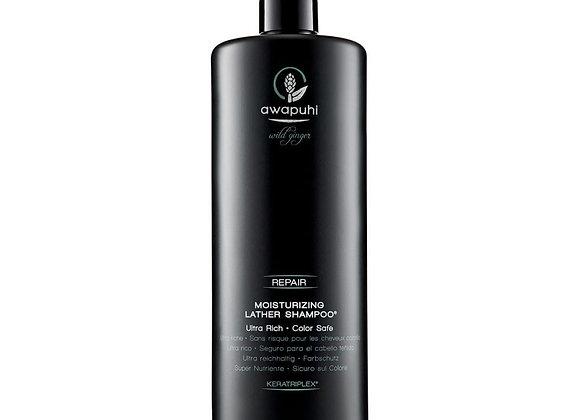 Awapuhi Wild Ginger Moisturizing Lather Shampoo 33.8FL oz