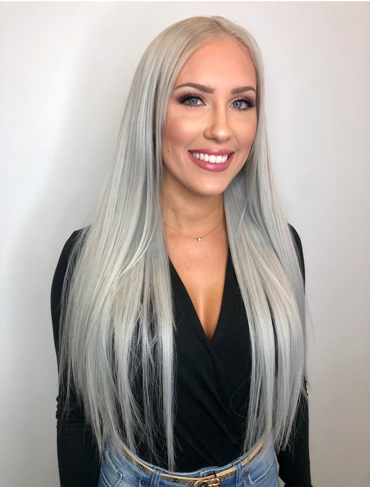 Hand-tied Weft Extensions