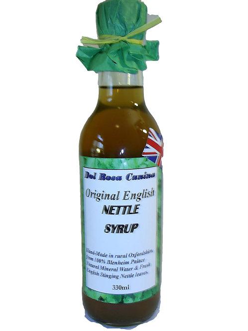 Original English Nettle Syrup 330ml glass bottle
