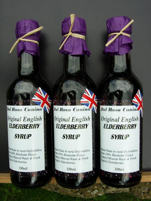 Elderberry Syrup 330ml 100% natural, handmade herbal syrup