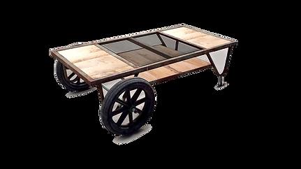 Wheelie, tavolino da soggiorno con ruote, coffee table. tavolino artigianale, tavolino basso artigianale