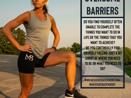 Barriers Are Meant to Be Overcome!