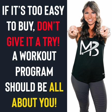 Tailored Workout Programs that Meet YOUR Needs!