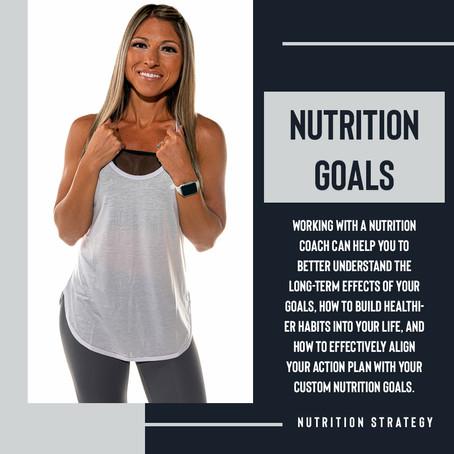 Custom Nutrition Goals Help You Meet Your Needs