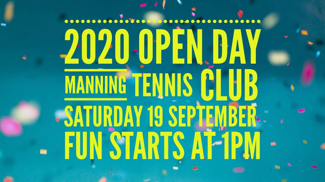 Join us for our 2020 Open Day