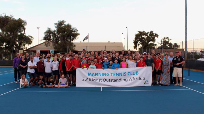 2016 WA Club of the Year Banner Unveiling