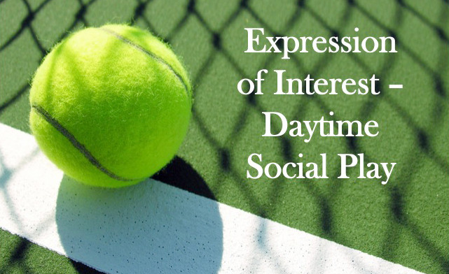 Looking for social tennis partners during the day on weekdays?