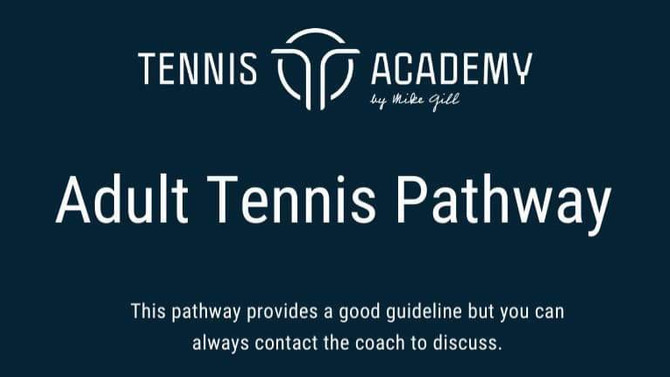 Choosing the right tennis pathway for Adults