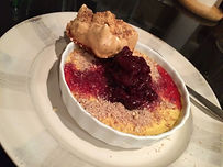 custard and ginger cherry compote .jpg