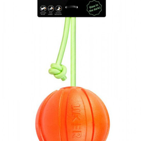 мячик LYKER9 lumi на шнуре (d 9см)