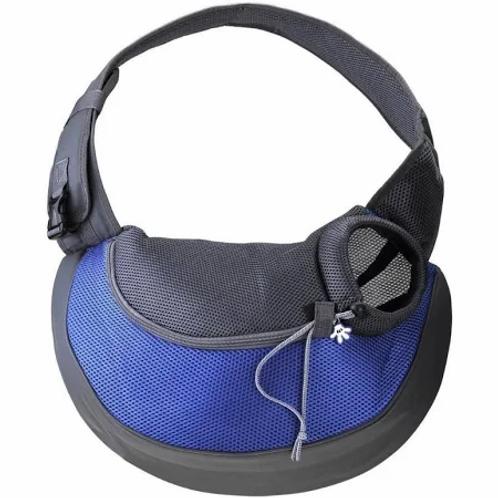 Переноска-слинг Pretty Pet 45х13хН28 см до 5 кг, синяя