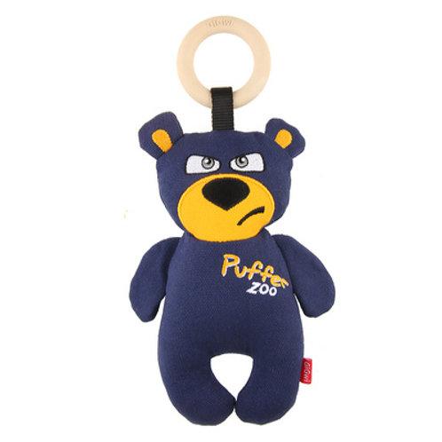 "Игрушка ""Медведь"" синий с пищалкой GiGwi"