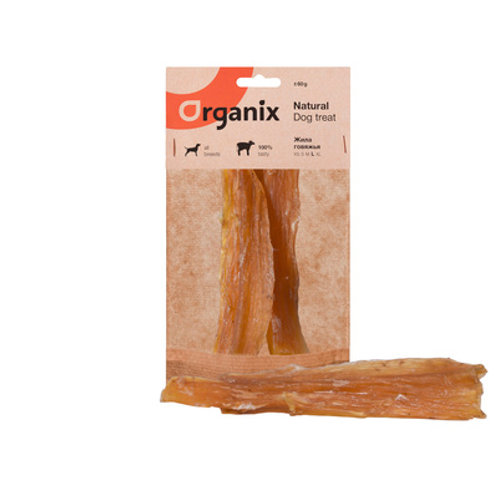Премиум лакомство Organix (жила говяжья)