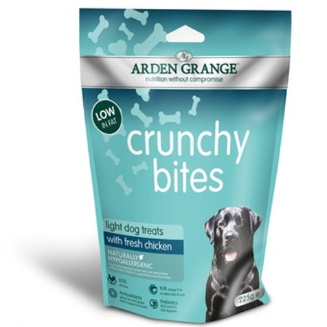 Лакомство для собак низкокалорийное с курицей (Crunchy Bites rich in chicken)