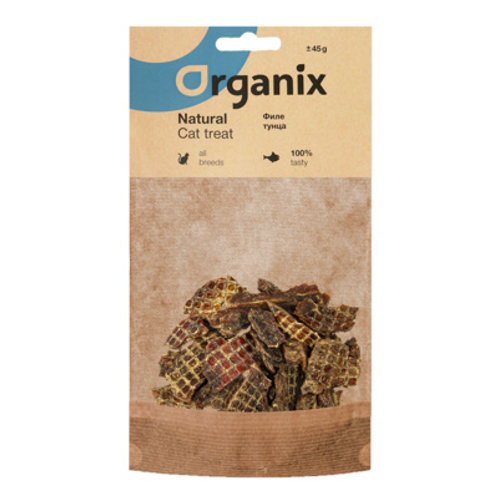 Премиум лакомство для кошек Organix (Филе тунца)