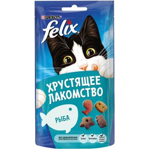 Хрустящее лакомство для кошек Felix (Рыба)