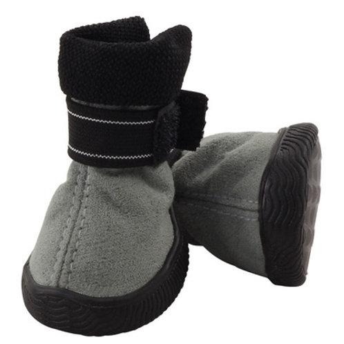 Ботинки для собак серые (35*35*45мм) р-р 2