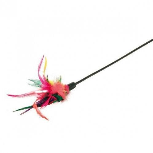 Игрушка для кошек удочка с перьями