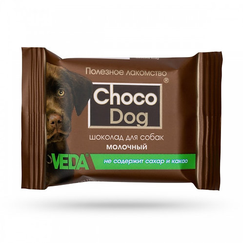 "Шоколад молочный ""CHOCO DOG"" для собак 15г"