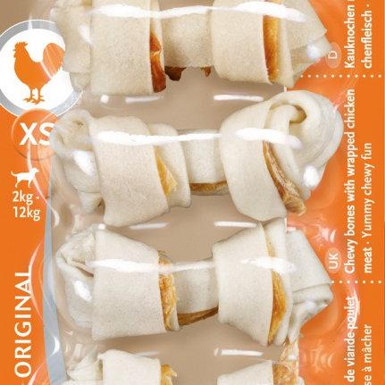 8in1 DELIGHTS XS косточки с куриным мясом для мелких собак 7,5 см 7 шт