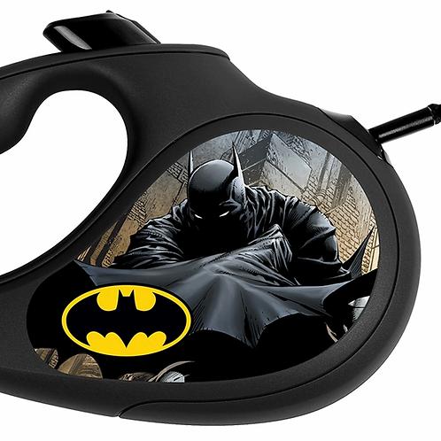 """Поводок-рулетка WAUDOG """"Бэтмен Черный"""" р-р L, 50кг/5м черный"""