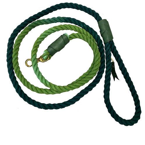 Поводок handmade зеленый градиент 2,5 м (вес до 700 кг)