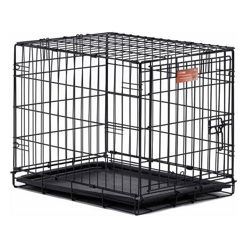 "Клетка черная с 1 дверью ""iCrate"", 61х46х48 см"