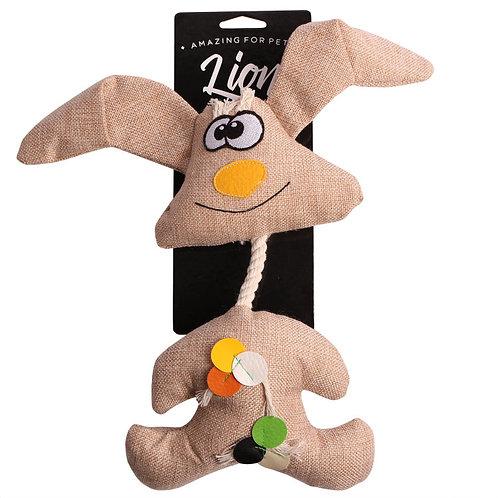 Игрушка для собак Lion Заяц-канат