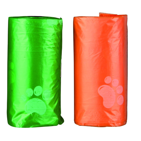 Пакеты для уборки за животными цветные