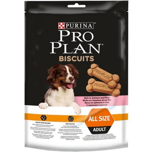 Purina Pro Plan бисквиты для собак с лососем и рисом (400г)